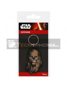 Llavero de goma Star Wars Chewbacca