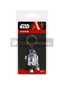 Llavero de goma Star Wars R2-D2