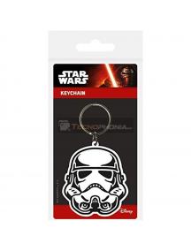Llavero de goma Star Wars casco Tropas de Asalto