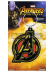 Llavero de goma Marvel Los Vengadores logo
