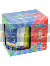 Taza cerámica 325ML Pj Masks 8412497419289