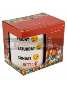 Taza cerámica 325ML Emoji Week 8412497468256