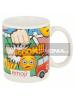 Taza cerámica 325ML Emoji Comic 8412497468454