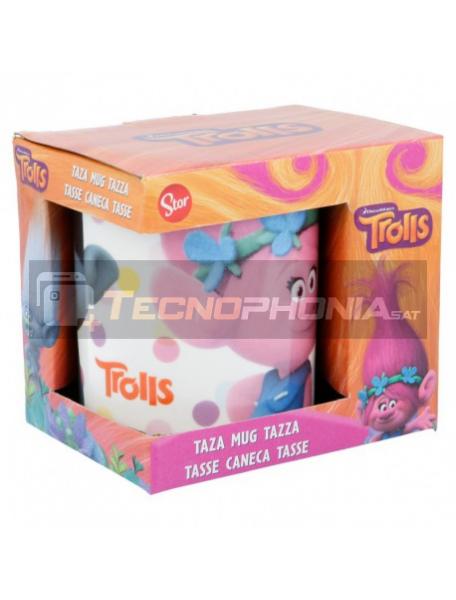 Taza cerámica 325ML Trolls - Dots 8412497947157