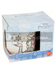Taza cerámica 200ML Frozen - Let the magic flow 8412497787227