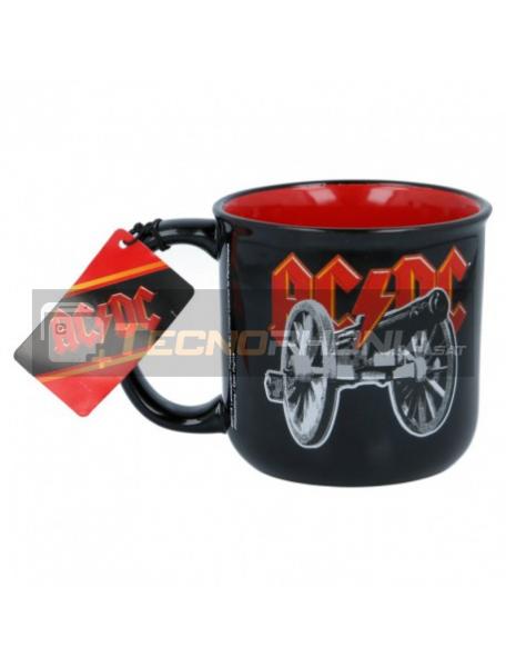 Taza cerámica desayuno 385ML AC/DC 8412497197477