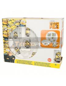 Set cerámico de merienda en caja regalo Minions 8412497415656
