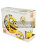 Set cerámico de merienda en caja regalo Minions - Paradise 8412497749652