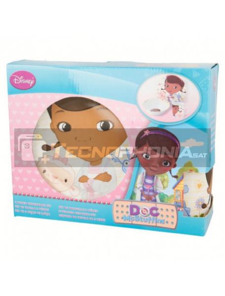 Set cerámico de merienda en caja regalo Doctora Doc 8412497786657