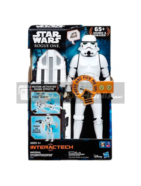 Figura Stormtrooper Imperial Star Wars 30cm