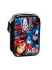 Estuche Vengadores Avengers Marvel Twister triple cremallera