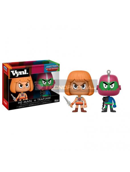 Set de figuras Funko Vynl Masters Of The Universe He-Man y Trapjaw