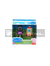 Figura Peppa Pig - Danny Dog cohete