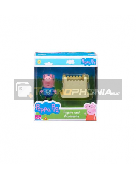 Figura Peppa Pig - Geroge Piig castillo