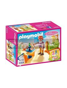 Playmobil - Habitación del bebé con cuna
