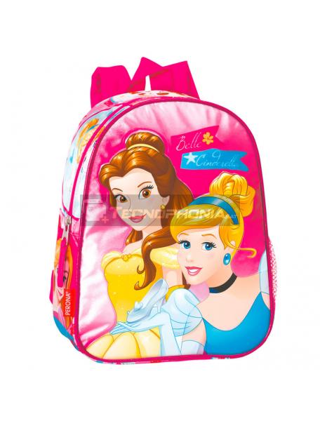 Mochila Princesas Disney 28cm