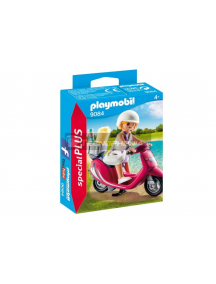 Playmobil - 9084 Mujer con scooter