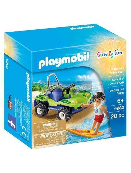 Playmobil - 6982 Surfista con buggy