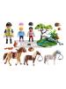 Playmobil - 6947 Paseo de ponis en el campo