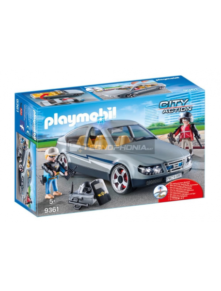 Playmobil - 9361 Coche civil de las fuerzas especiales