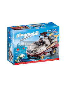 Playmobil - 9364 Coche anfibio