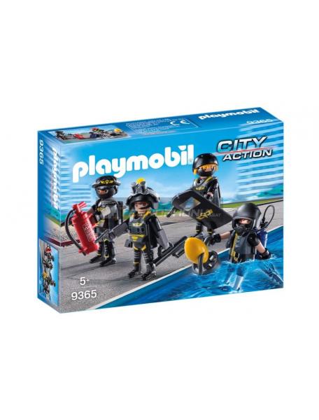 Playmobil - 9365 Equipo de las fuerzas especiales