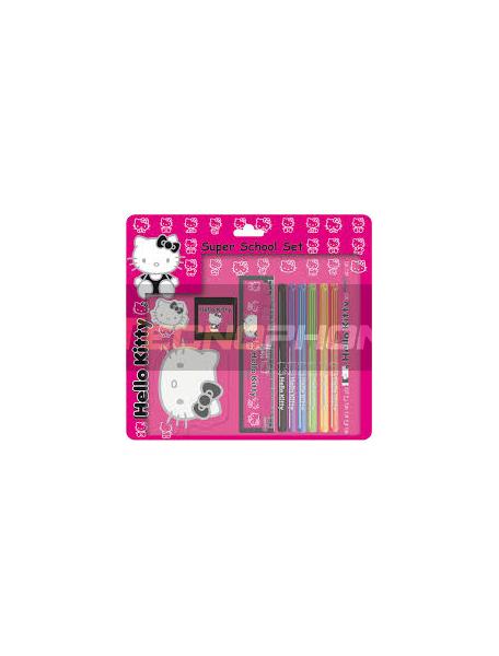 Blister papelería Hello Kitty