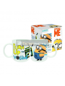 Taza cerámica 32ML Minions - Turn up the volume 6950687214891