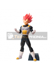 Figura Banpresto Dragon Ball Super Ciokoku Buyuden Super Saiyan God Vegeta 22cm