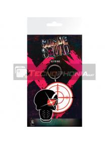Llavero de goma Escuadrón Suicida Deadshot