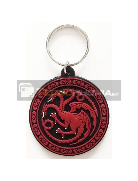 Llavero de goma Juego de Tronos Targaryen