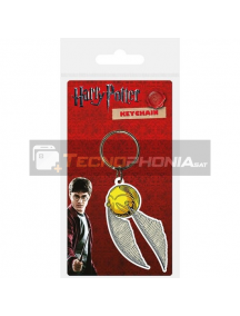 Llavero de goma Harry Potter Snitch Carded