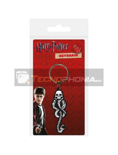 Llavero de goma Harry Potter Dark Mark