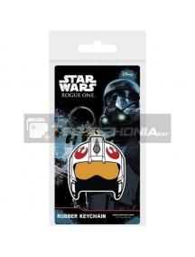 Llavero de goma Star Wars Rougue One Rebel Helmet