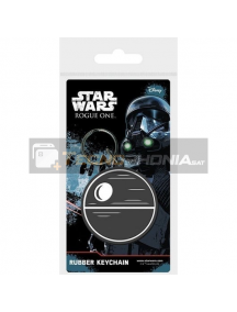 Llavero de goma Star Wars Rougue Death Star