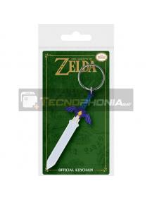Llavero de goma The Legend of Zelda Master Sword