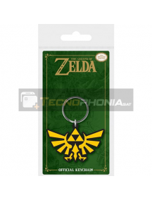 Llavero de goma The Legend of Zelda Triforce
