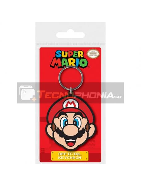 Llavero de goma Nintendo Super Mario