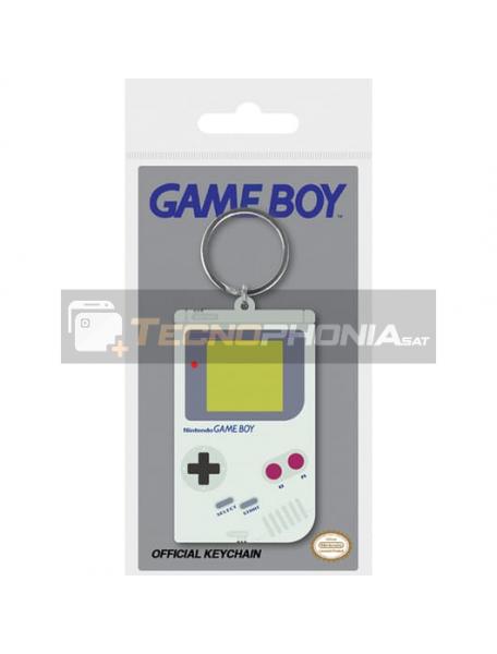 Llavero de goma Nintendo Gameboy