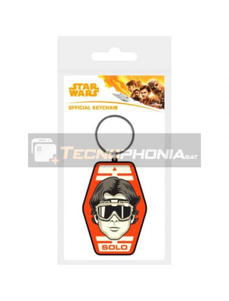 Llavero de goma Star Wars Solo Badge