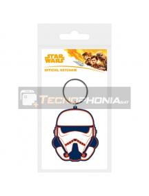 Llavero de goma Star Wars Solo Trooper