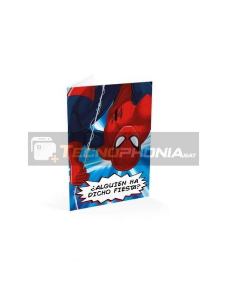 Tarjeta de felicitación Spiderman - ¿Alguien ha dicho fiesta?
