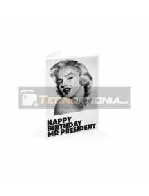 Tarjeta de felicitación Happy Birthday MR. President