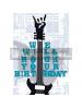 Tarjeta de felicitación We will rock your birth