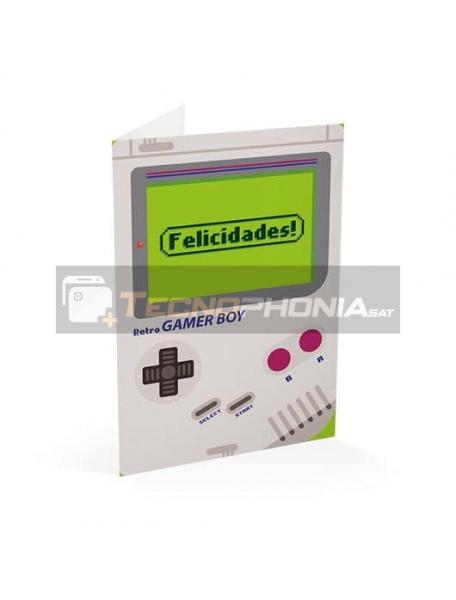 Tarjeta de felicitación Gamer Boy