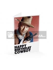 Tarjeta de felicitación Happy Birthday Cowboy