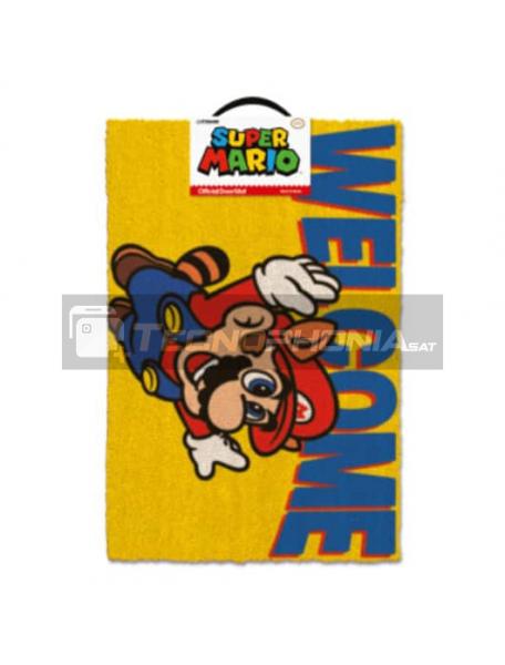 Felpudo Super Mario - Welcome