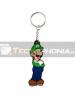 Llavero de goma Nintendo - Luigi