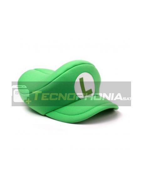 Gorra Nintendo - Luigi maquinista verde