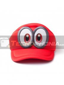 Gorra Nintendo - Super Mario Odyssey maquinista roja